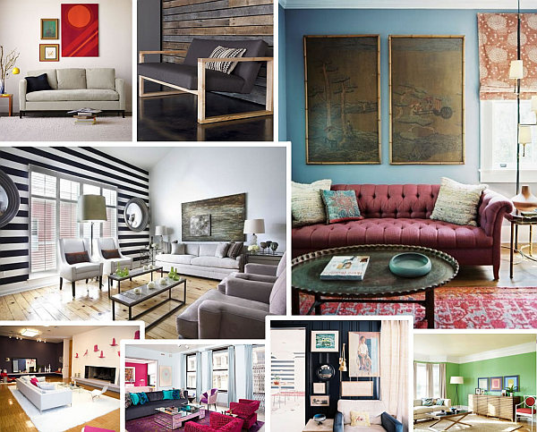 Living room paint ideas find your home 39 s true colors for Colour ideas for living room