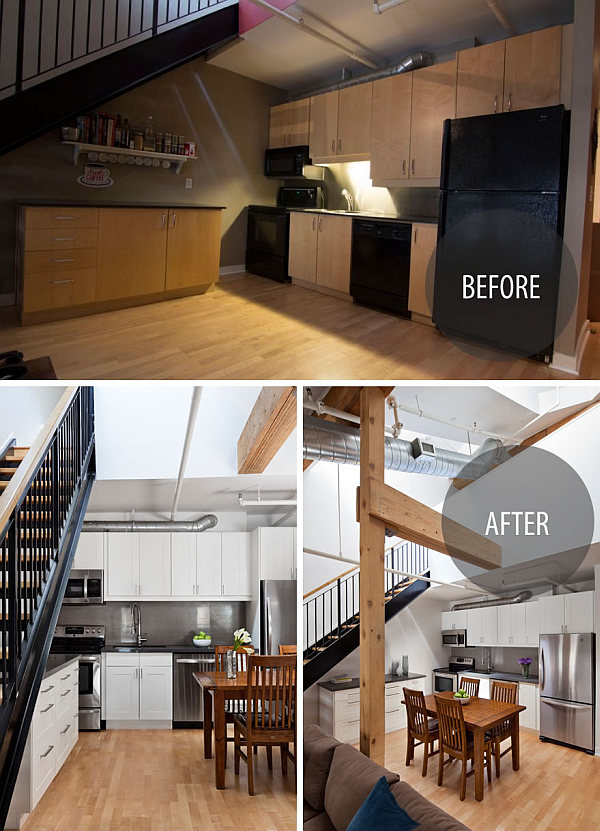 Toronto Penthouse Loft Gets A Contemporary Makeover In