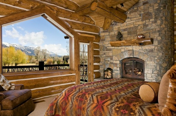 mountain inspired fall bedroom