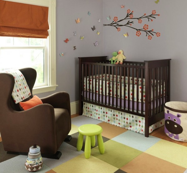 retro nursery geometry patterns