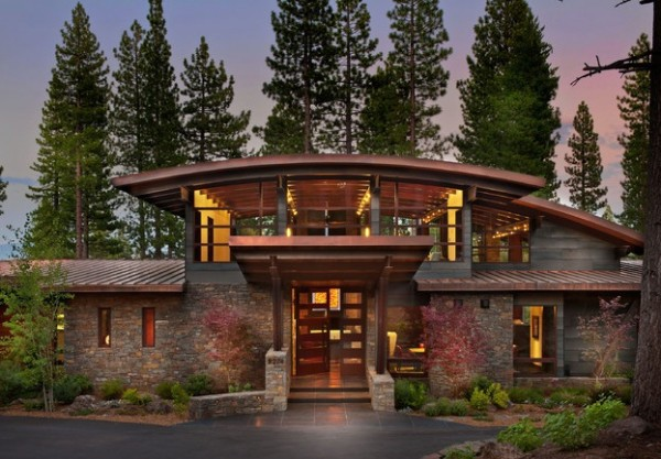Bringing rustic appeal to your outdoor home for Modern rustic house plans