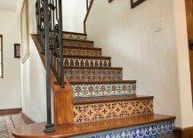 stairs mosaic