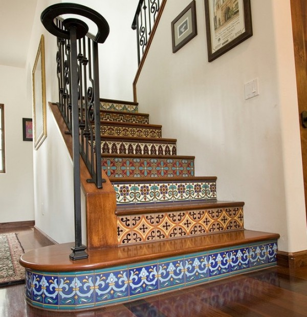 Brilliant Tile On Stairs Ideas 600 x 619 · 101 kB · jpeg
