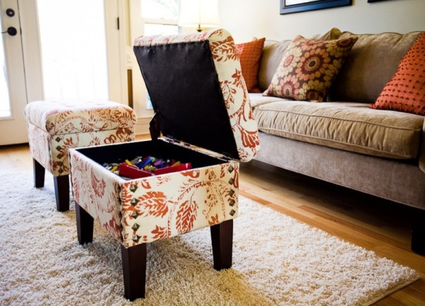 View in gallery storage ottoman - Choosing The Right Ottoman To Compliment Your Sofa