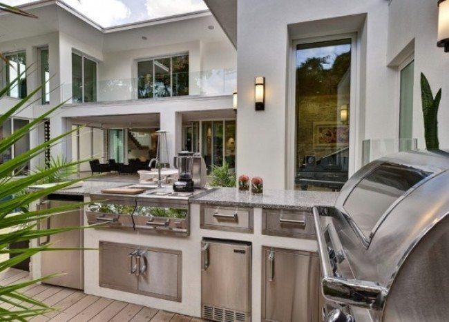 summer kitchen modern idea
