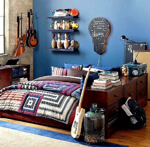 teenage boys room hobby How to Add Life to your Teenagers Outgrown Room