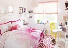 teenage girls room floral