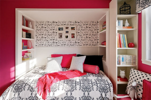 View in gallery teenage girls room updated shelving