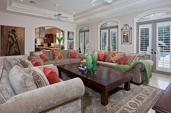 living room shutters. View in gallery A  Hot Home Trend Interior Shutters