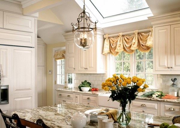 window fall valance skylight