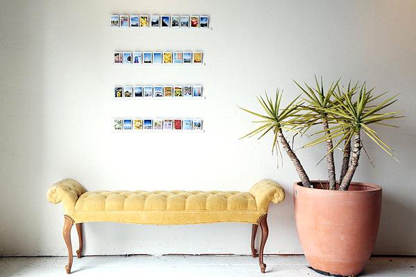 A DIY photo ledge project