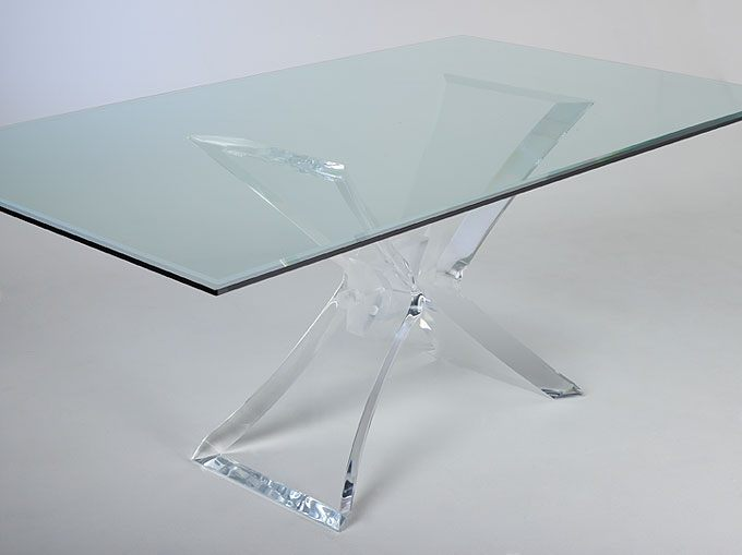 Dining Table Acrylic Lucite Dining Table