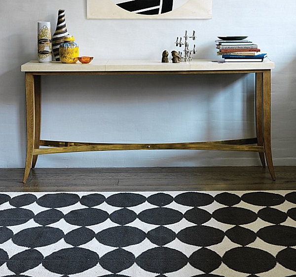 Contemporary Foyer Rugs : More modern rug ideas to brighten your space