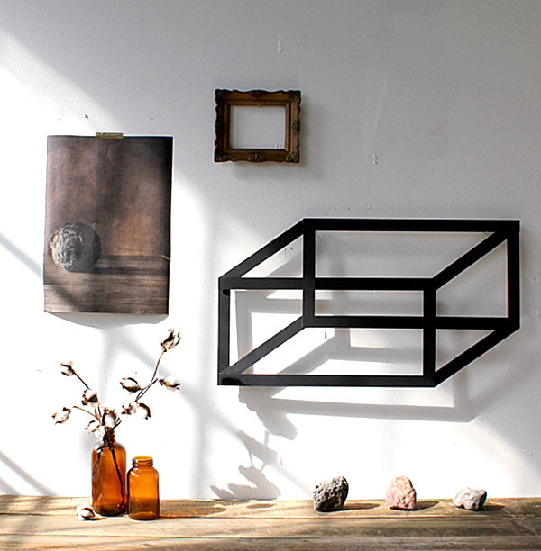 Easy diy projects that celebrate modern design Simple wall art