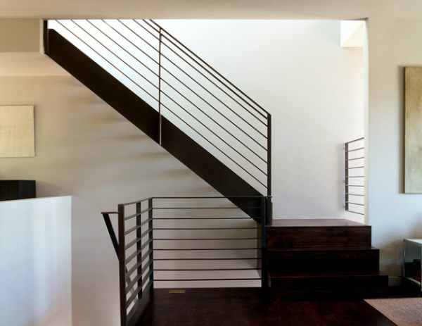 Indoor Handrails For Stairs Contemporary: Modern Handrails Adding Contemporary Style To Your Home's