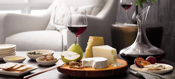 A-modern-wine-and-cheese-spread-