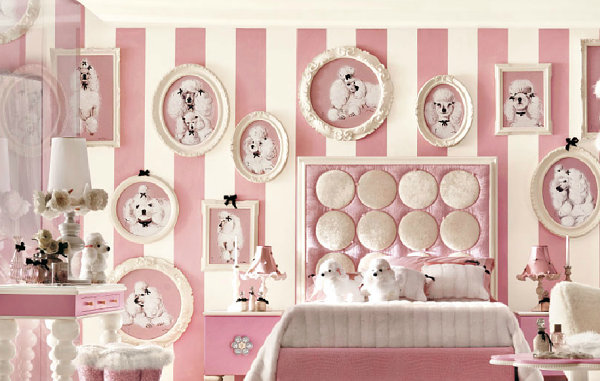 Pink Luxury Bedroom luxury home decor with a modern feel