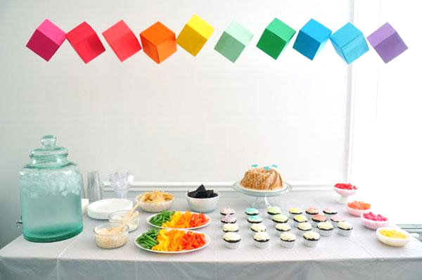 A-rainbow-of-party-table-colors