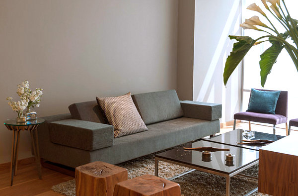 Small Compact Sofa Images. 10 Small Urban Apartment Decorating ...