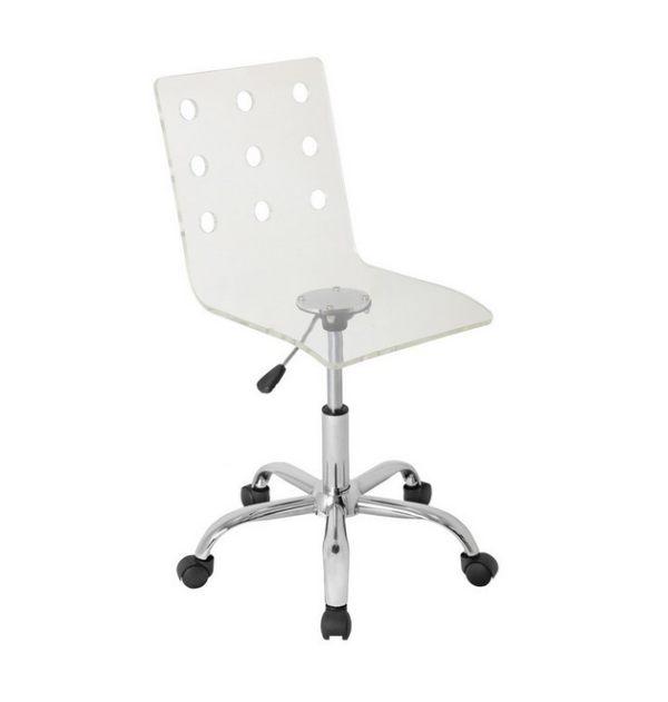 An-acrylic-swivel-chair