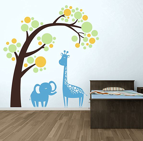 Nursery Wall Decals With Modern Flair - Nursery wall decals animals