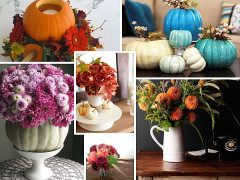 Autumn Centerpieces to Brighten Your Table