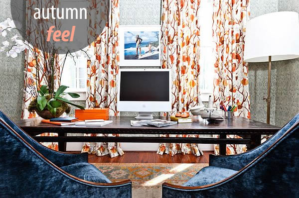 Autumn design and decorating ideas