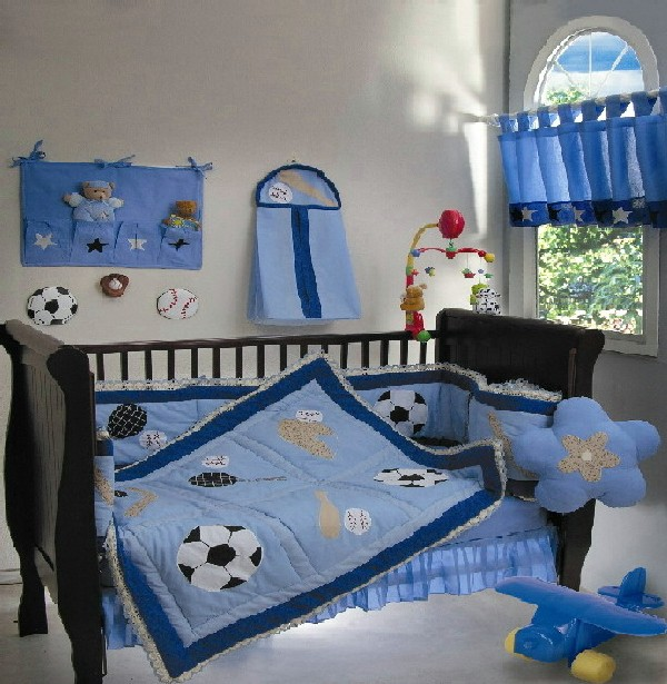 Colorful Baby Crib Bedding