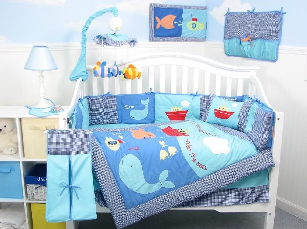 Nature Themed Crib Bedding