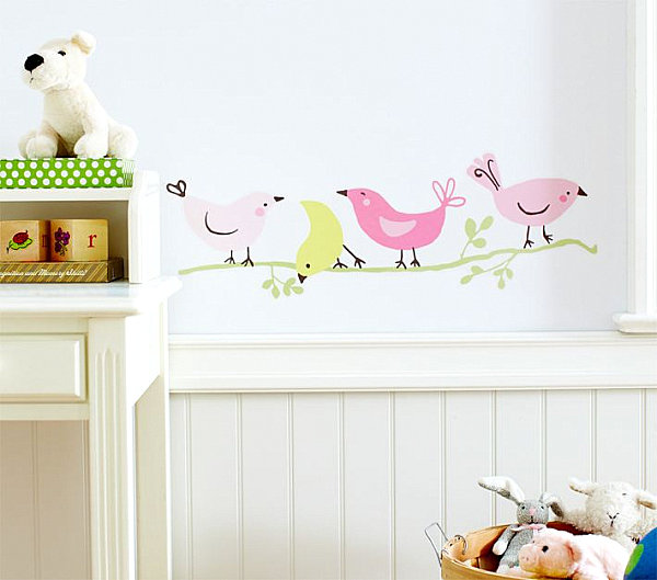 Bird Themed Nursery Wall Decals
