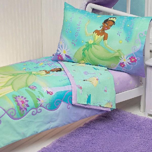 Princess Tiana Furniture: Blue And Green Princess And The Frog Bedding Set Fills