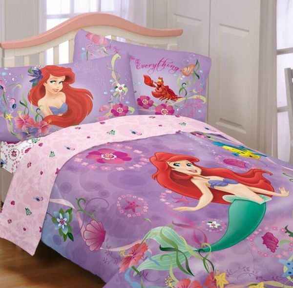 Bubbly Little Mermaid Bedding set