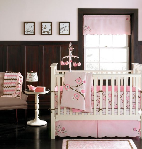 25 baby girl bedding ideas that are cute and stylish