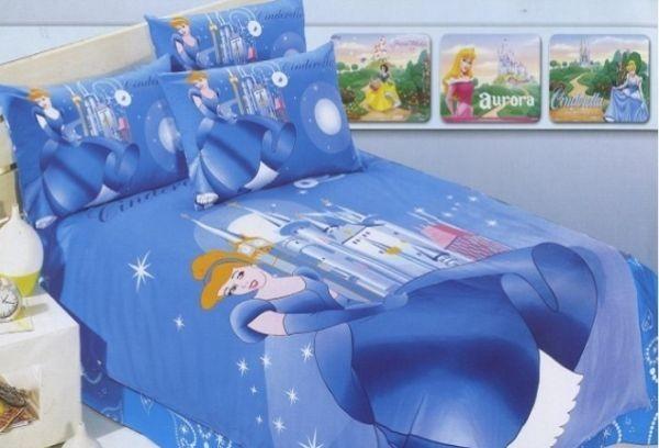 Cinderalla disney princess bed set