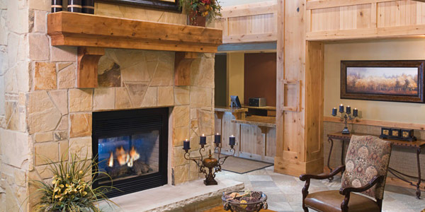 view in gallery classic fireplace design - Stone Fireplace Design Ideas