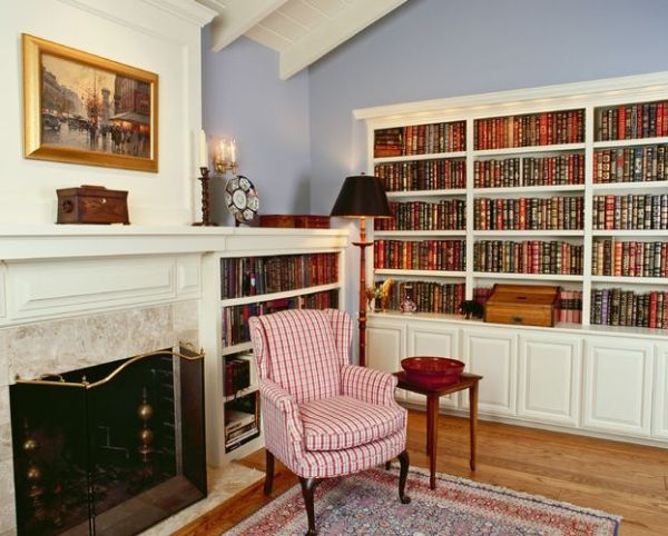 home office library ideas - Home Library Design Ideas