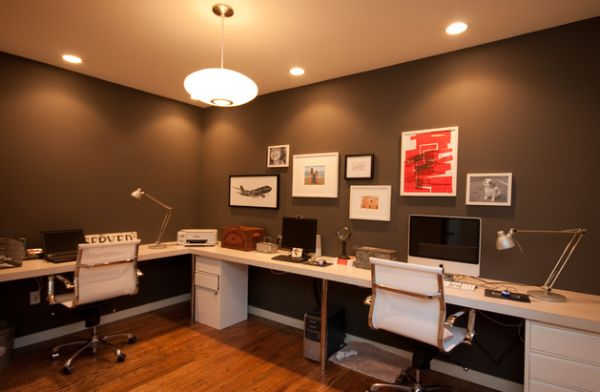 view in gallery clean and elegant home office
