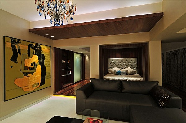Stylish Contemporary Home In India Revamped With Lavish