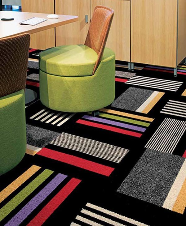 View In Gallery Contemporary Carpet Tiles ...