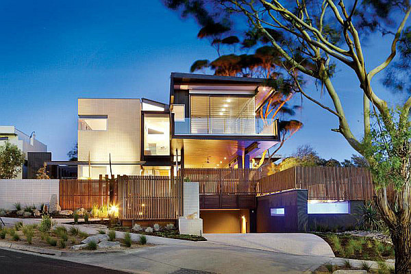 Contemporary sustainable home in melbourne creates a for Home architecture melbourne