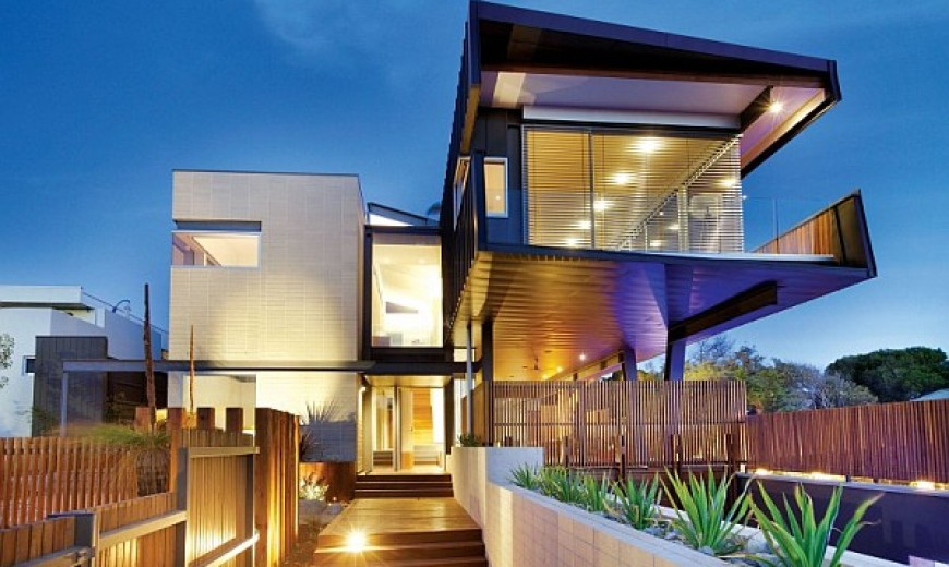 Contemporary Sustainable Home in Melbourne Creates a Distinct Visual Appeal