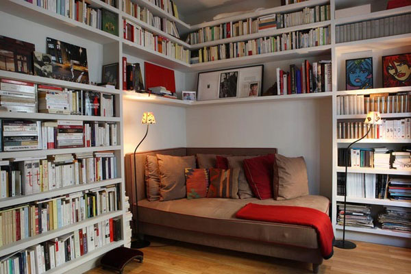 40 home library design ideas for a remarkable interior - Bibliotheque decoration de maison ...