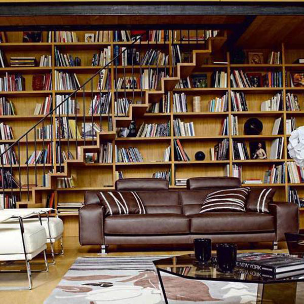 Attirant Home Office Library Ideas