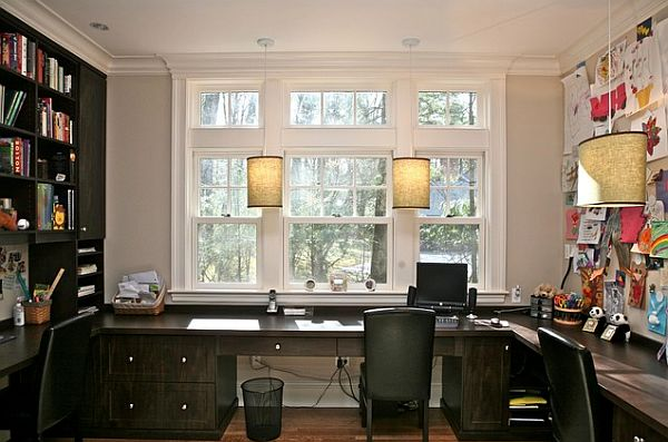 custom built desks for a fancy home office 3 home office tips to boost
