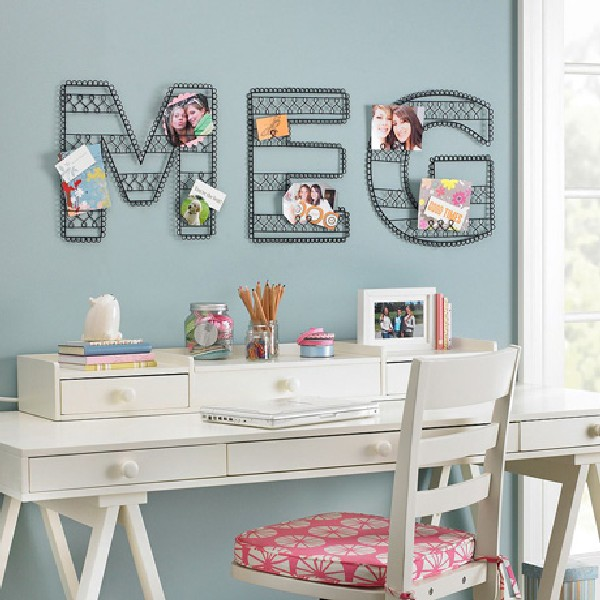 35 contemporary teen workspace ideas to fit in perfectly for Teen wall decor