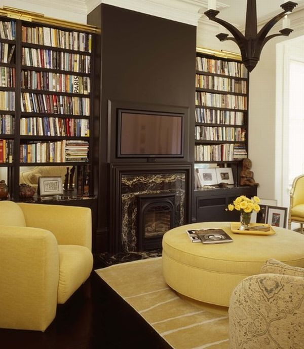 Houzify Home Design Ideas: 40 Home Library Design Ideas For A Remarkable Interior