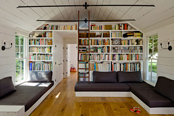 View in gallery Delightful  40 Home Library Design Ideas For a Remarkable Interior