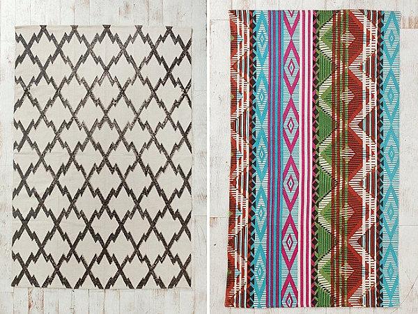 Diamond tribal pattern rugs - Decoist