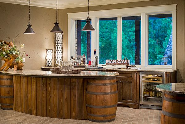 Man Cave Kitchen Bar : Sire design daily how to create the perfect quot man cave