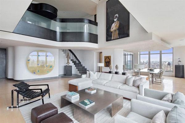 Spectacular manhattan penthouse with impressive city views for Interno case americane